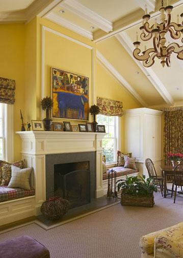 traditional living room by David Ludwig AIA - Architect