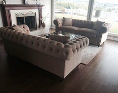 KENZIE STYLE ( aka NELLIE) - Chesterfield Sofa or Sectional living-room