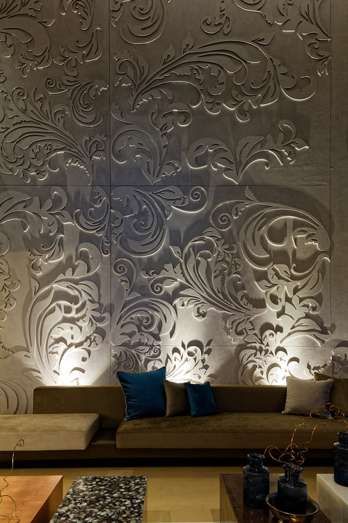 Sculptural Wall Panelling