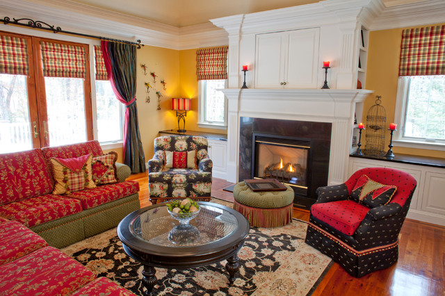 KH Window Fashions, Inc. eclectic-living-room