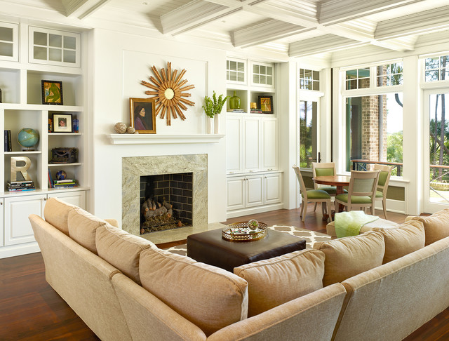 Kiawah Classic Cassique Transitional Living Room By Margaret Donaldson Interiors