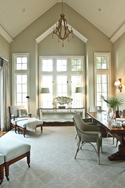 Kiawah Family Home traditional living room