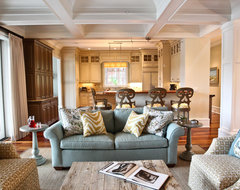 Kiawah Family Home beach-style-living-room