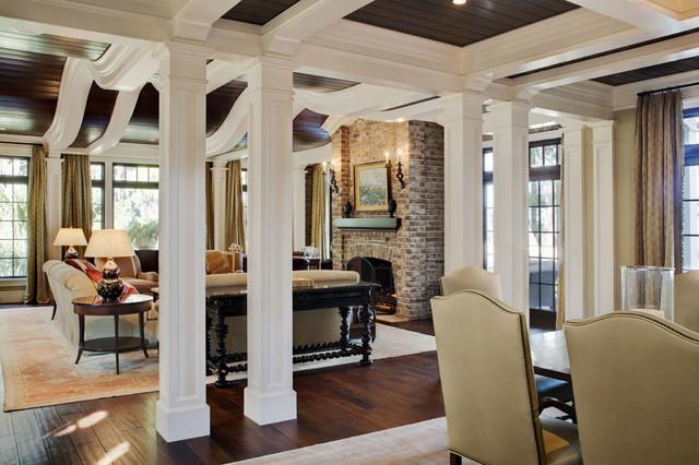 Kiawah Island House traditional-living-room