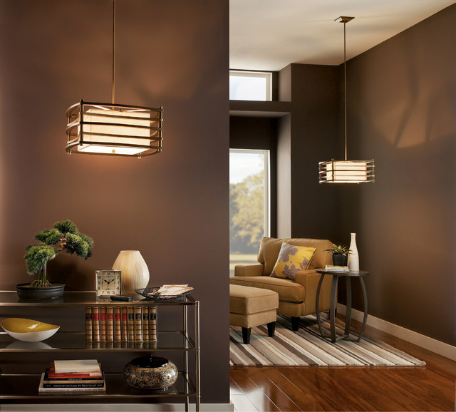 Kichler Lighting 42062CMZ Moxie Cambridge Bronze Pendant