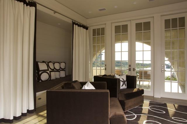 Kids Den beach-style-living-room