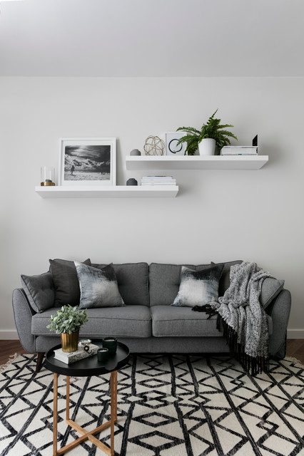 Kilburn Park Scandinavian Living Room London By