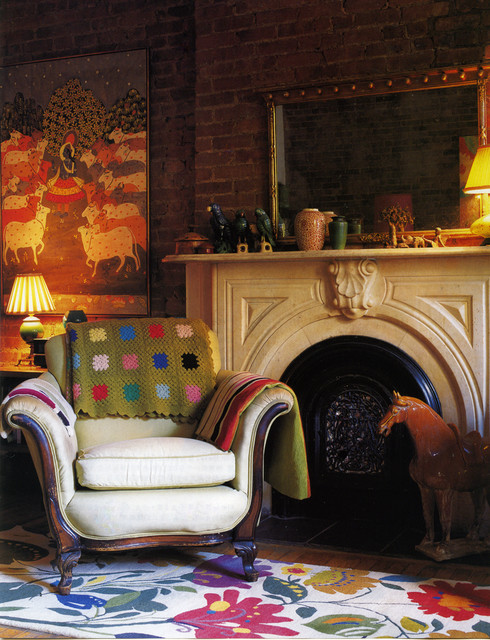 Kim Parker Interiors Eclectic Living Room New York By Kim Parker Interiors