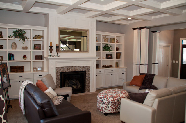 King Home transitional-living-room