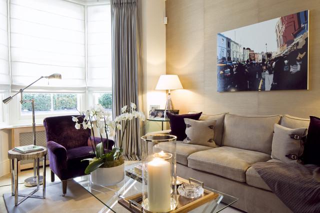 MPD London contemporary-living-room