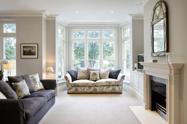 Kingston Upon Thames Surrey Victorian Living Room