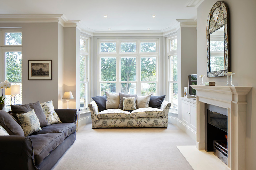 Kingston Upon Thames Surrey Victorian Living Room London By Dyer Grimes Architecture