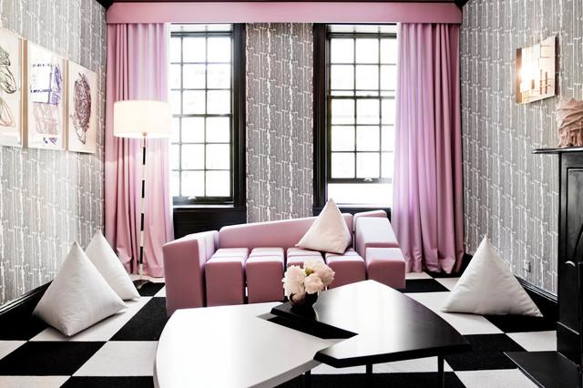 modern living room by Rikki Snyder