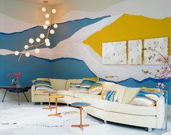 Kips Bay Decorator Showhouse modern-living-room