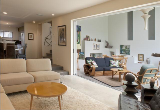 Kirk Chamberlain Studio eclectic-living-room