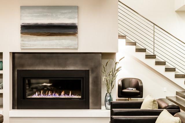Kirkland Contemporary Contemporary Living Room
