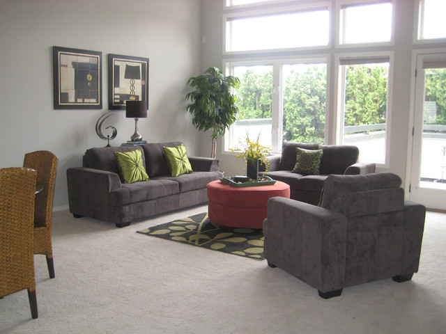 Kirkland staged home for Kirkland living room ideas