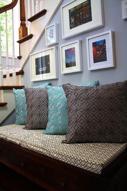 Kirkland view home contemporary living room seattle for Kirkland living room ideas