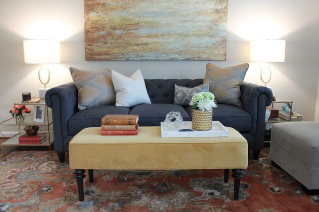 Kirkwood Transitional Living Room Transitional Living