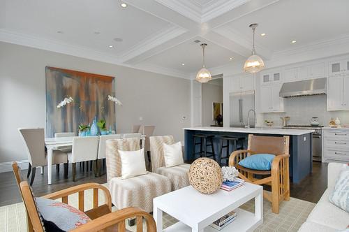 Balboa Mist, Benjamin Moore. Traditional Living Room ...