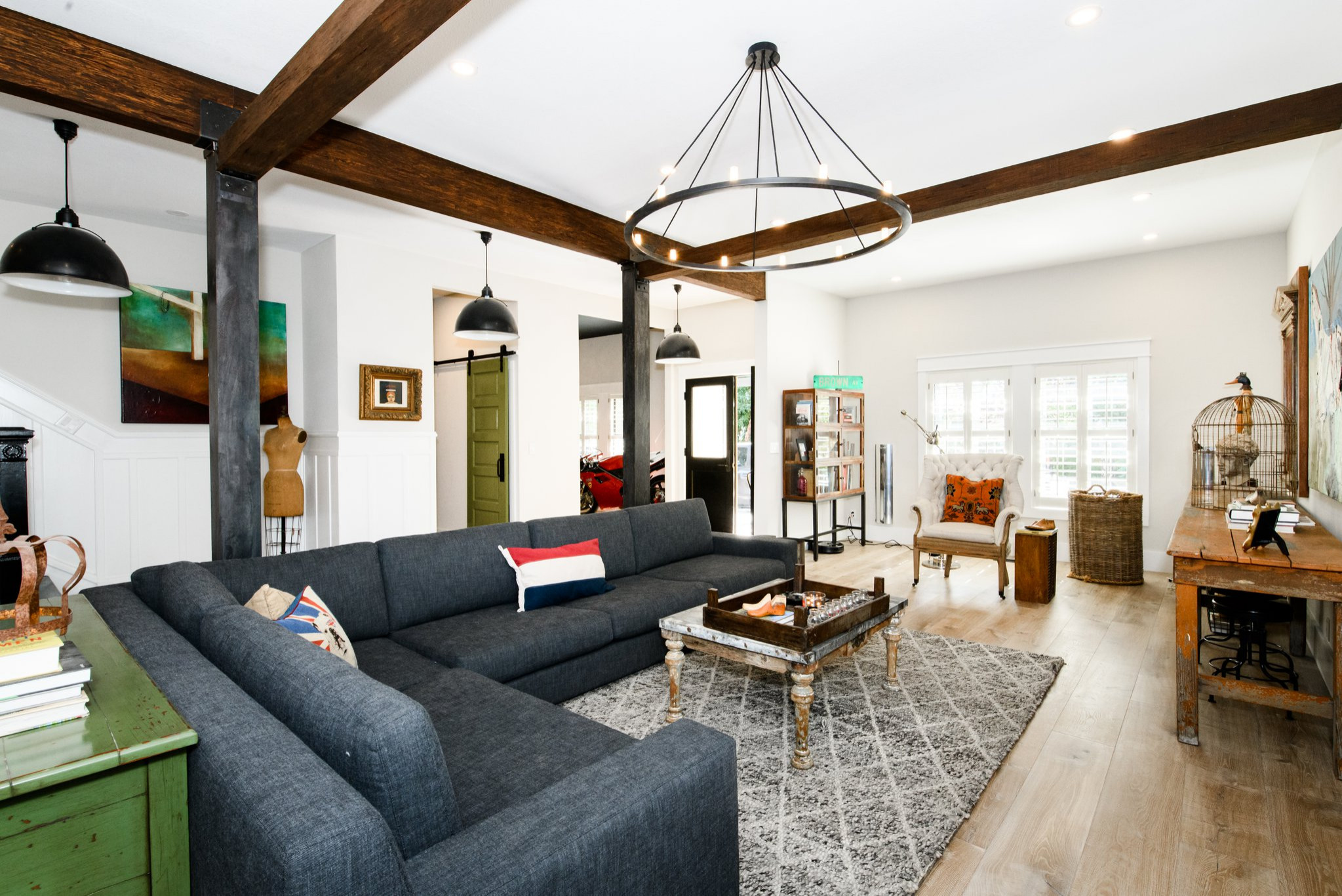 75 Beautiful Living Room With No Fireplace Pictures Ideas March 2021 Houzz