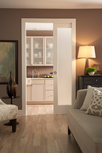 Kitchen Pocket Door Series 1500SC Contemporary Living Room