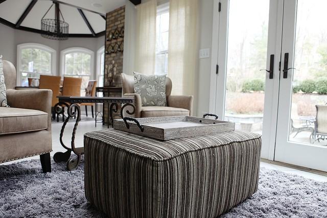 Kitchen transitional-living-room