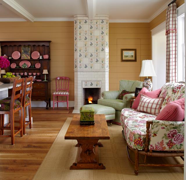 Houzz Farmhouse Living Room: Colorado Farmhouse