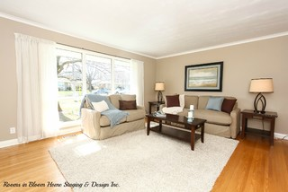 Kitchener Home Remodel & Staging - Traditional - Living Room - toronto - by Rooms in Bloom Home ...