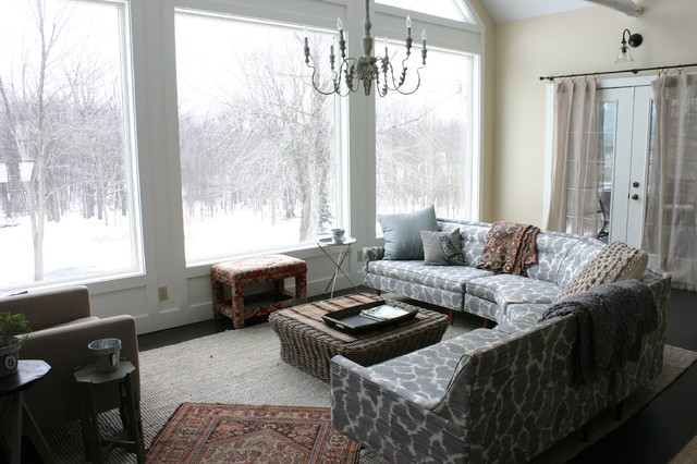 Large Living Room Window Simple Large Living Room Window  Houzz Decorating Design