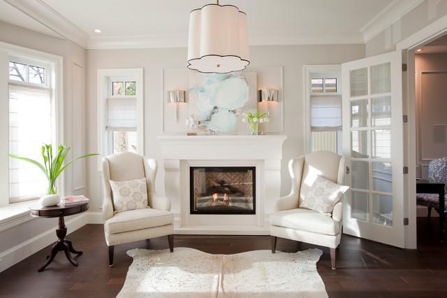 Kitsilano New Build Transitional Living Room