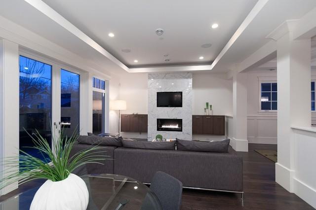 Kitsilano Residence contemporary-living-room