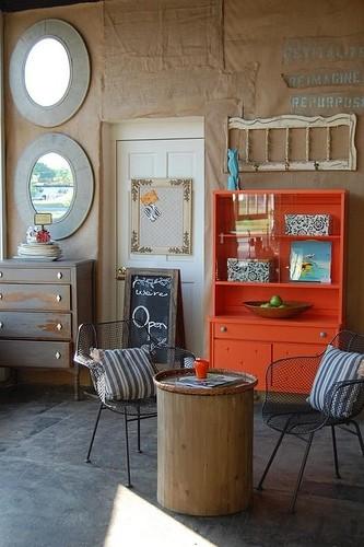 Knack Studios eclectic living room