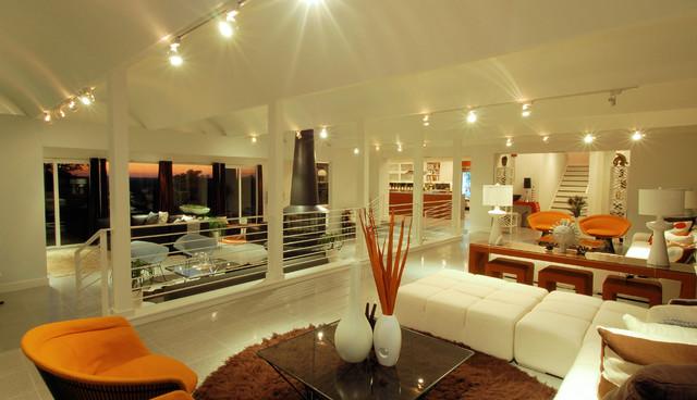 Knollwood Living - Modern - Living Room - austin - by ...