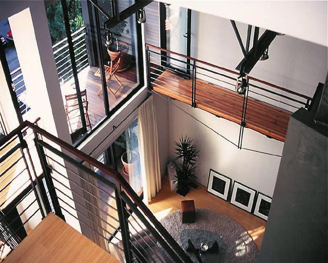 Kohler Residence modern-living-room