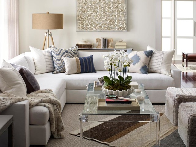 Kravet Designs transitional-living-room