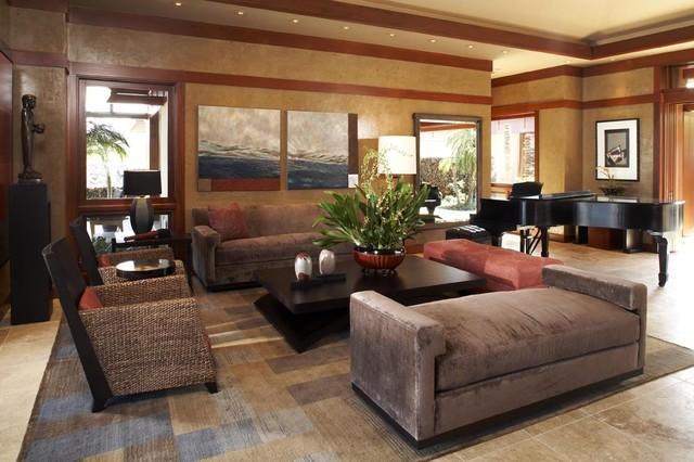 kuikawa 4 - asian - living room - hawaii -willman interiors