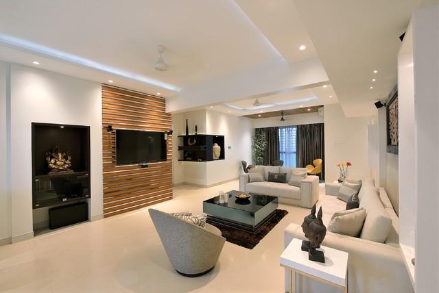 Kulai's Residence contemporary-living-room
