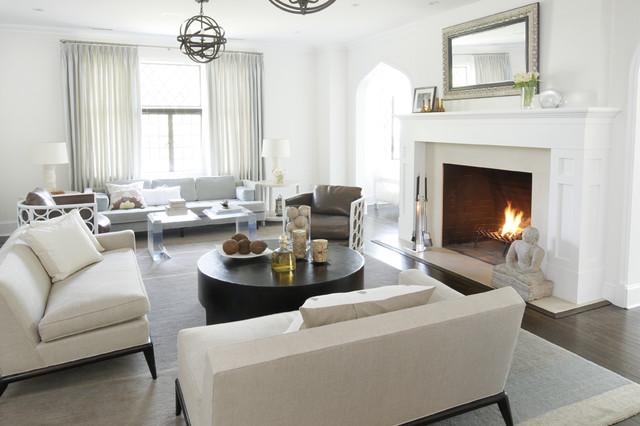 Kwinter Design contemporary-living-room