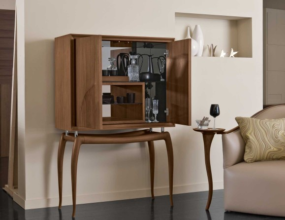 L'Officina Topkapi Bar Cabinet - Modern - Living Room - New York ...