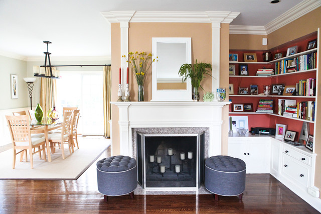 Fine L Shaped Living Room And Dining Room Transitional Living Room Largest Home Design Picture Inspirations Pitcheantrous