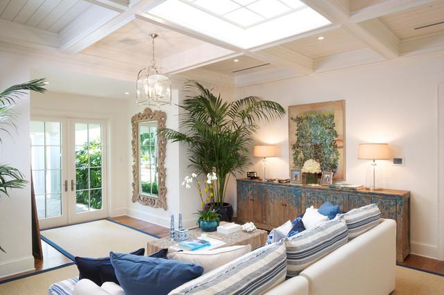 La Gorce   MiamiBeach Style Living Room, Miami