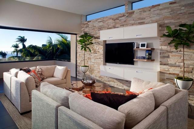 La Jolla Contemporary contemporary-living-room
