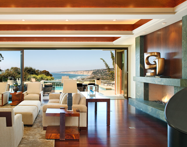 La Jolla Scenic View - Transitional - Living Room - Other - By