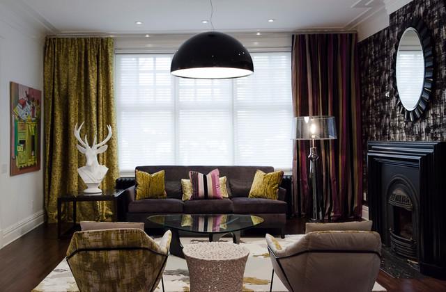 London Masculin Living Room