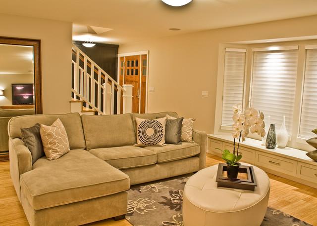 Ladner Contemporary contemporary-living-room