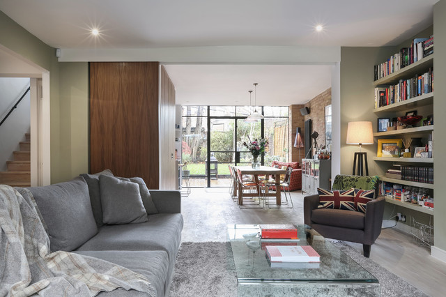 Layout Ideas For An Open Plan Kitchen And Living Space Houzz Ie