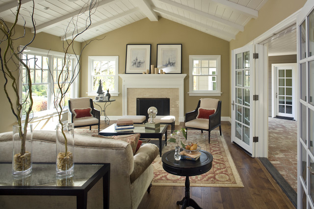 Lafayette residence one for Traditional living room designs