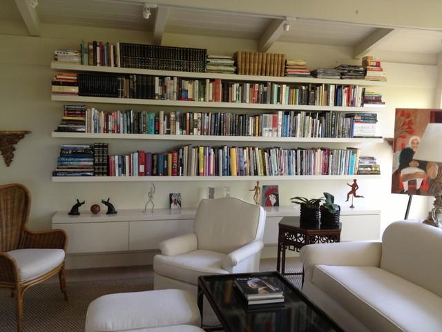 Lafayette Storage contemporary-living-room