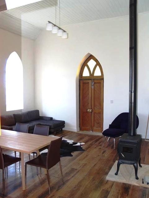 Laggan Church industrial-living-room